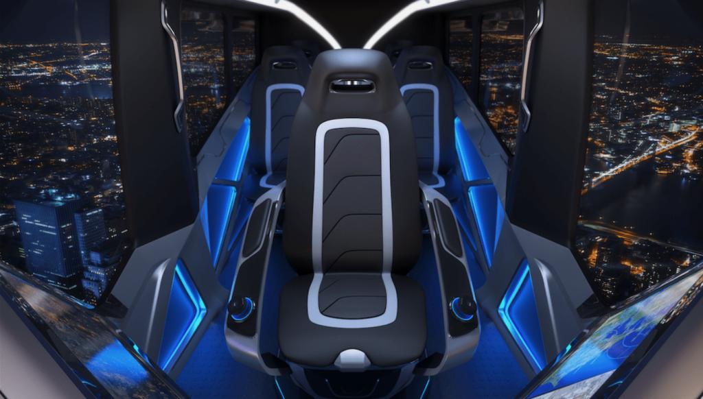Bell Nexus siège du pilote