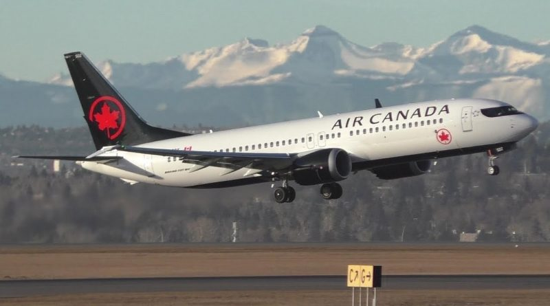 B737MAX8 Air Canada