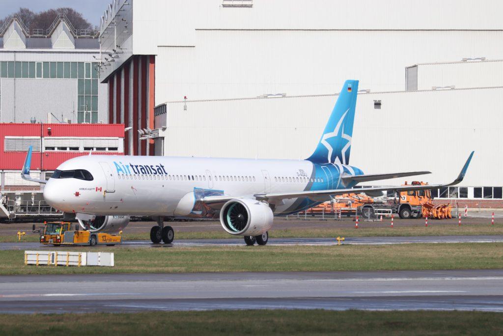 Air Transat premier A321LR