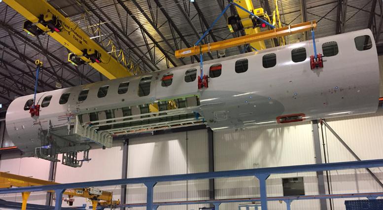 STELIA fuselage Global 7500