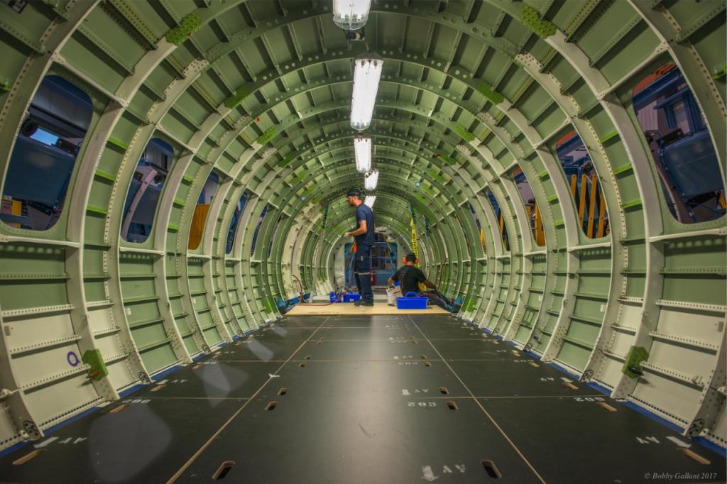 Intérieur fuselage Global 7500