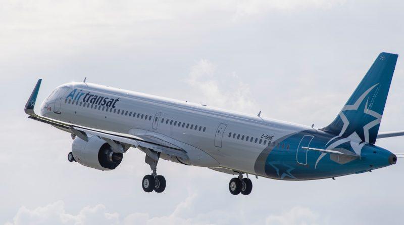 Transat A. T. A321LR
