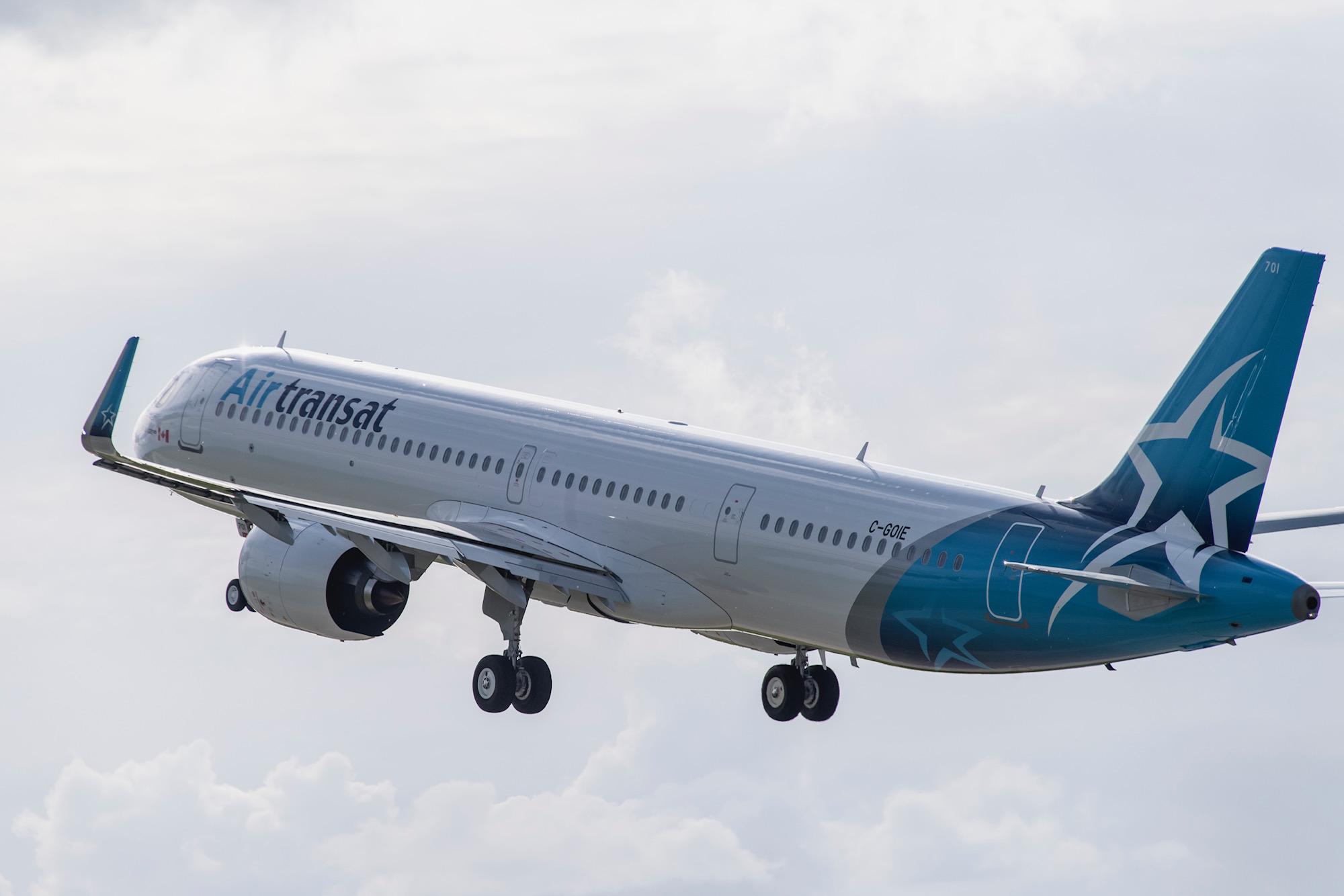 A321NEO LR d'Air Transat