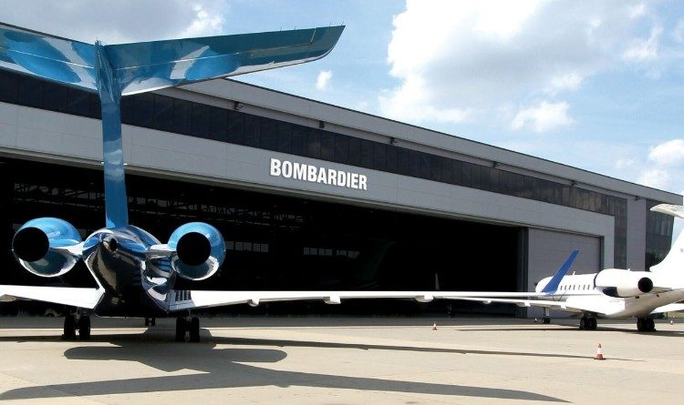 Centre d'entertien pour les avions d'affaires de Bombardier de Biggin Hill