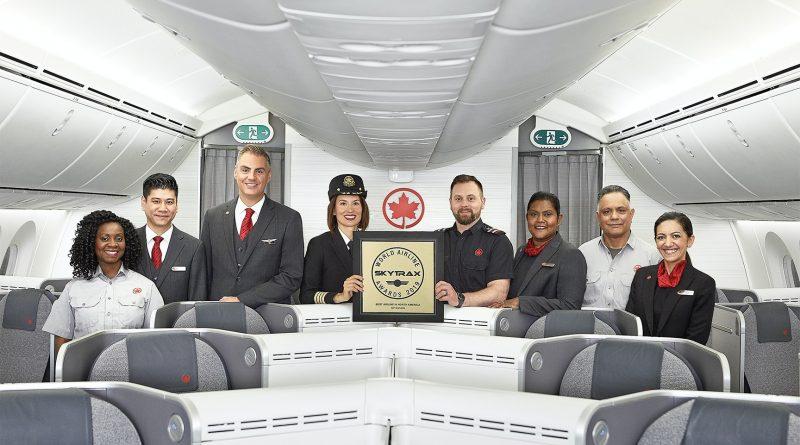 Air Canada Sky Trax Award