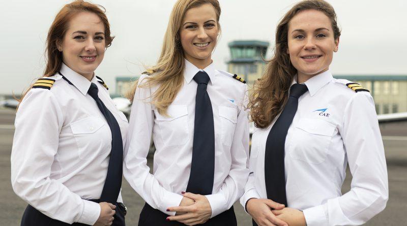 CAE Femmes pilotes aux commandes