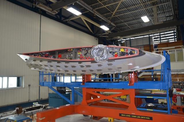 Pylône d'essai Pratt B747SP