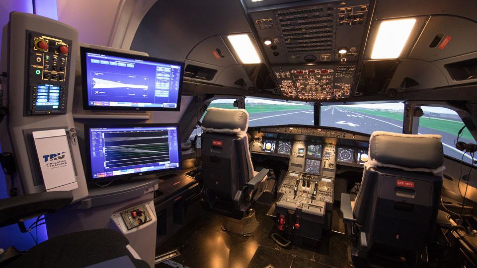TRU intérieur simulateur A320