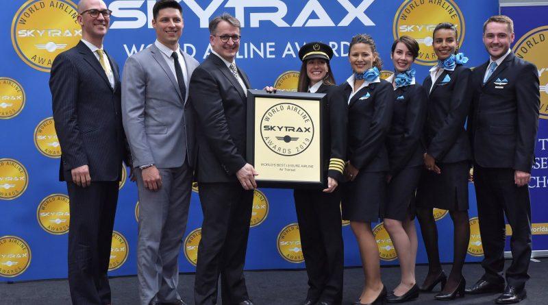 Transat Skytrax Award