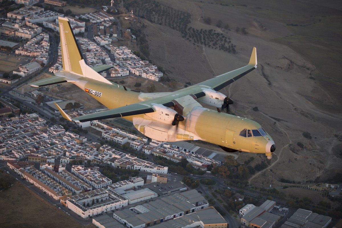CC-295 en vol