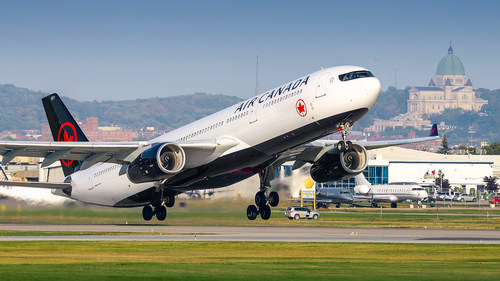 Air Canada desservira Toulouse à l'Année
