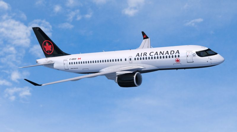 Vol inaugural de l'A220-300 chez Air Canada