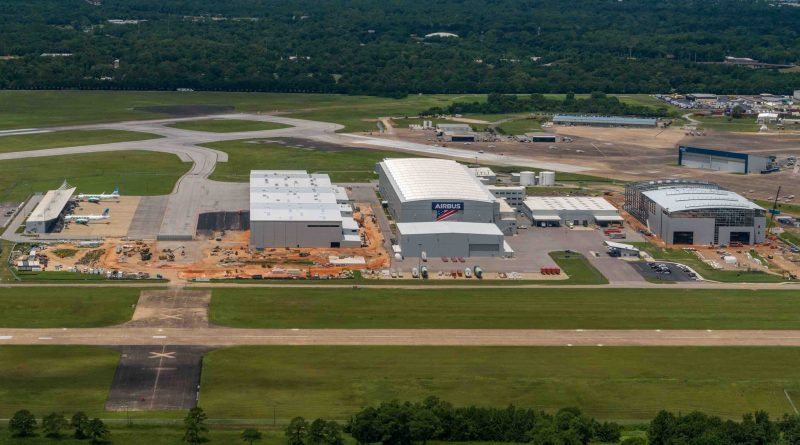 Airbus débute l'assemblage du premier A220 à Mobile en Alabama