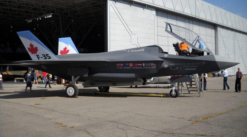 Le Canada va acheter des F-35