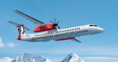 De Havilland relance le Dash8-400