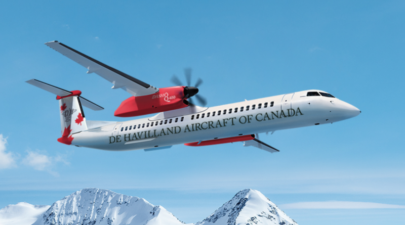 De Havilland relance le Dash8