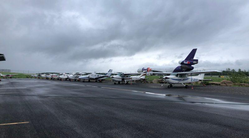 Avions stationnés à Mirabel