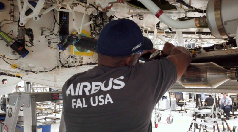 Incident sur la ligne de 'assemblage d'Airbus à Mobile