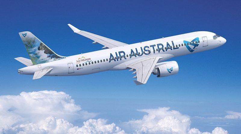 Airbus A220-300 d'Air Austral