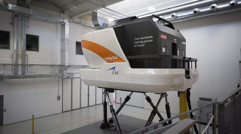 Le nouveau centre de formation CAE-EasyJet de Milan