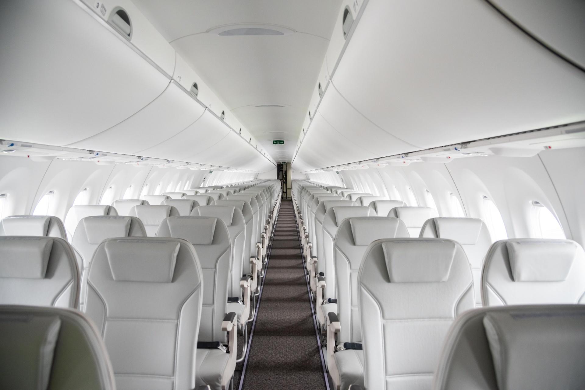 Photographie de promotion Intérieure A220-300 d'Air Baltic