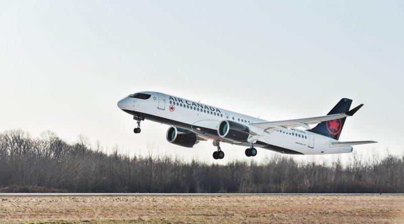 Premier vol Air Canada A220-300