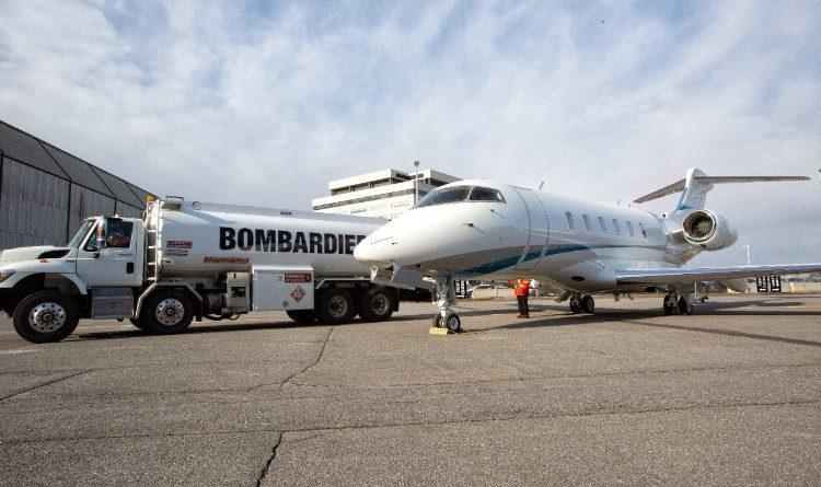 Livraison du premier Challenger 350 propulsé au carburant d'aviation durable