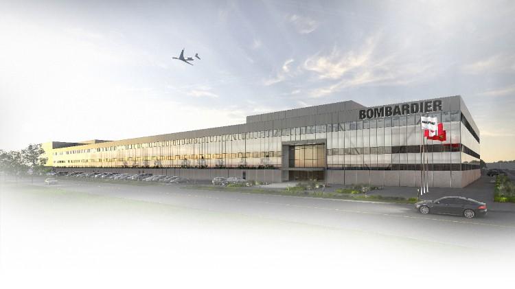 Bombardier signe un bail à long terme pour l'assemblage du Global