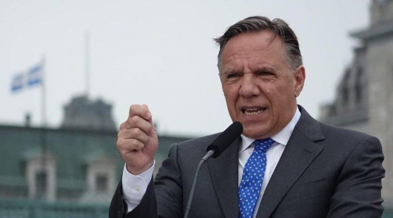 Le premier Ministre du Québec Jan-Françis Legault