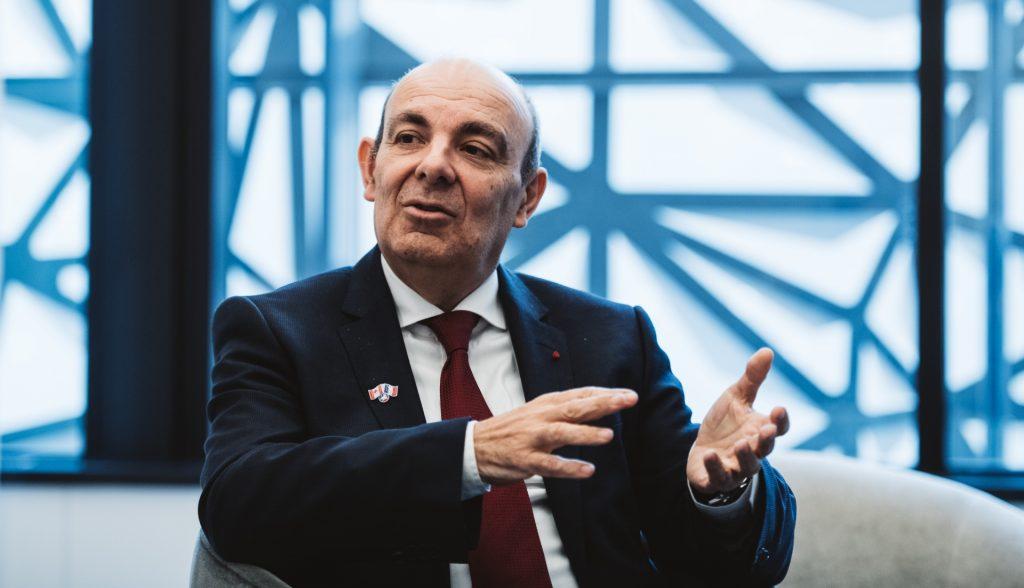 M. Eric Trappier président du GIFAS et de Dassault Aviation