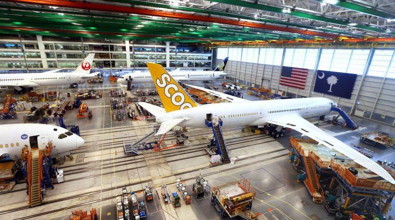 Boeing B787 Charleston