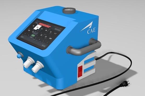 COVID-19 ventilateur de CAE