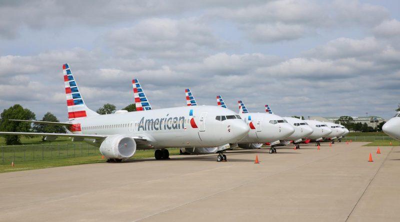B737MAX d'américanismes Airlines