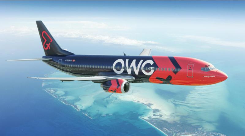 B737-400-d'OWG en vol