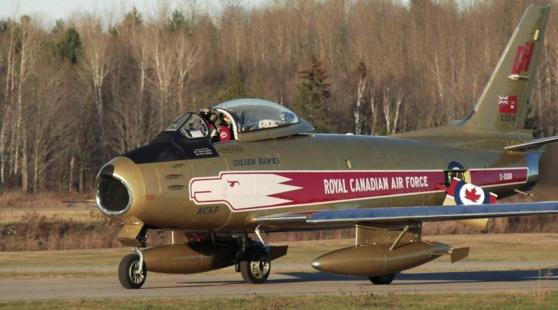 Le MAQ et le Canadair Sabre
