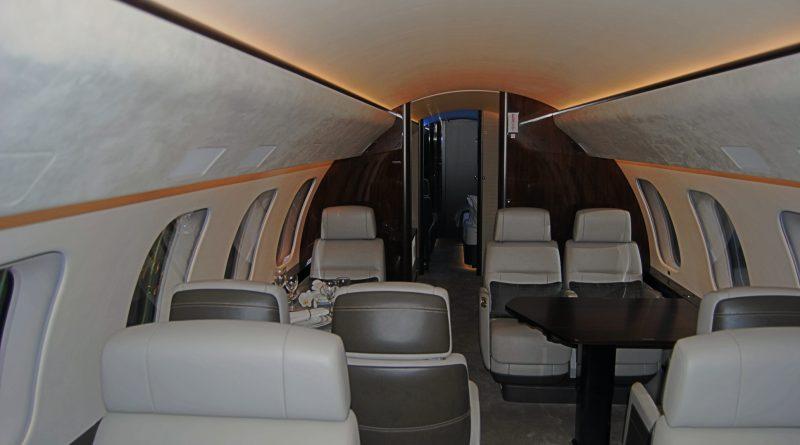 Intérieur Bombardier Global 7500