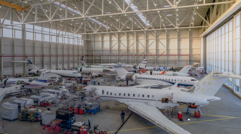Lufthansa Bombardier aviation service