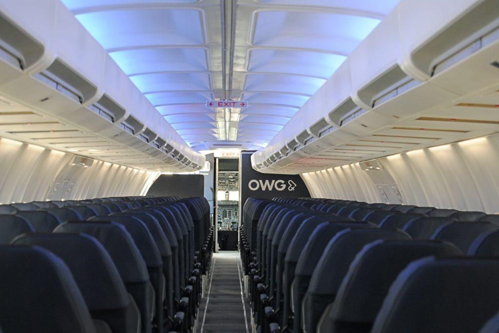 OWG cabine du B737-400