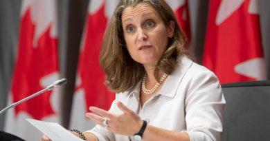Chrystia Freeland ministre des finances à Ottawa