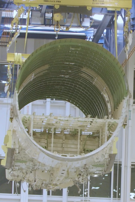 Section centrale fuselage Airbus A220