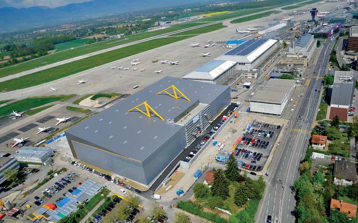 Bombardier s'éttend à Genève
