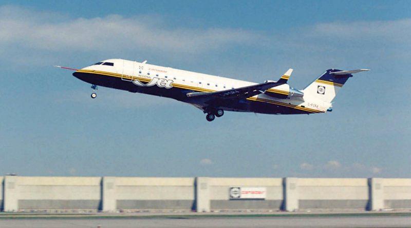 CRJ premier vol