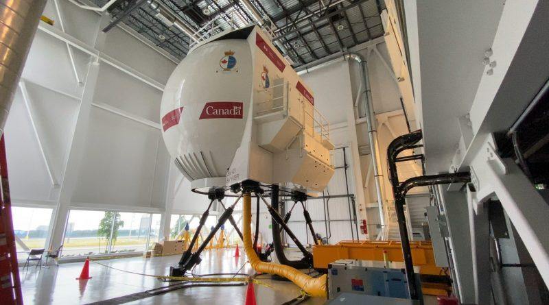 Simulateur CAE 3000 de la Garde côtière