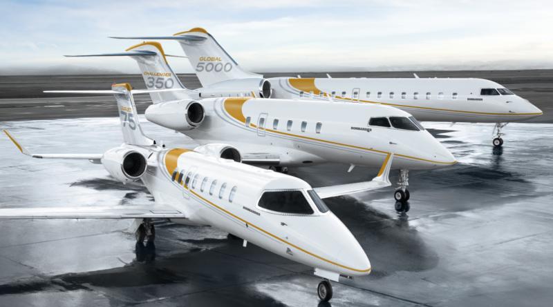Bombardier gamme d'avions