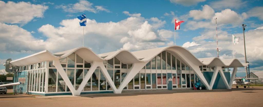 Aéroport de Trois-Rivières terminal actuel