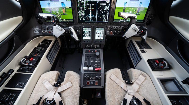 Avions d'affaires en monopilote