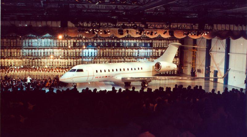 Dévoilement du Global Express en 1996